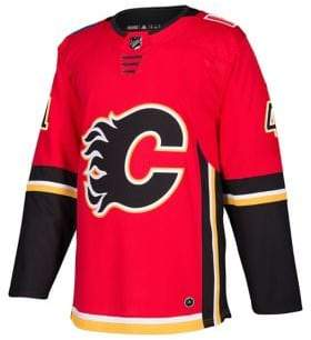 adidas Calgary Flames Mike Smith NHL Authentic Pro Home Jersey