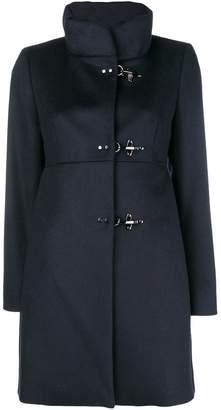Fay band collar coat