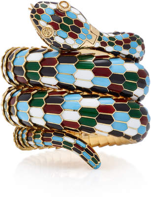 Bulgari Gioia Vintage Harlequin Serpenti Bracelet-Watch