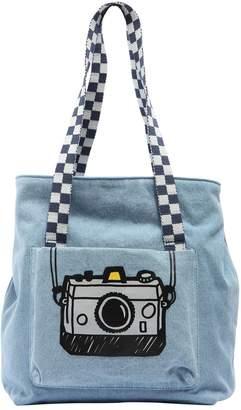 Stella McCartney Camera Printed Denim Tote Bag