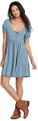 Ralph Lauren Denim & Supply Floral-Print Keyhole Dress $98 thestylecure.com