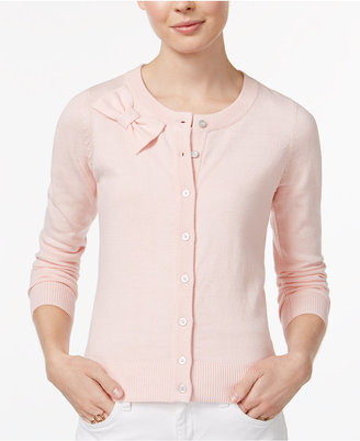 Maison Jules Bow Cardigan, Only at Macy's $59.50 thestylecure.com