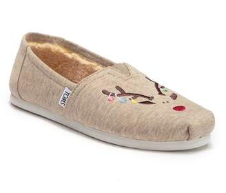 at Nordstrom Rack · Toms Classic Embroidered Reindeer Faux Fur Lined  Slip-On Sneaker 25f313306e