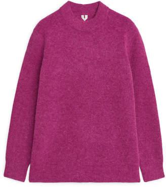 Arket Alpaca Blend Knitted Tunic