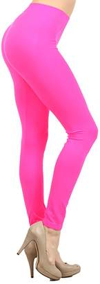 NeonNation Colored Seamless Leggings Athletic Pants Costume Party Tights
