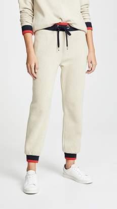 Victoria Beckham Victoria Contrast Rib Sweatpants