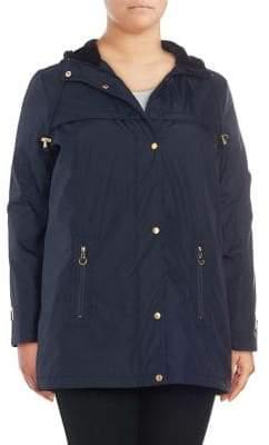 Weatherproof Plus Hooded Bonded Jacket