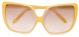 Linda Farrow oversized square sunglasses
