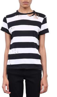 Amiri Distressed Cashmere T-shirt