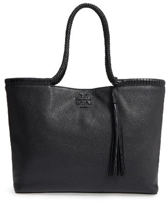 Tory Burch Taylor Leather Tote - Black $525 thestylecure.com