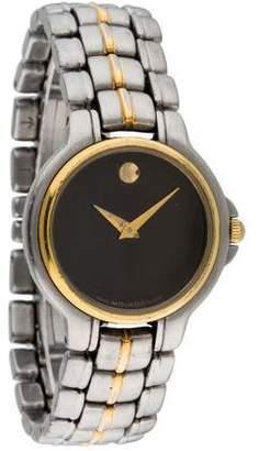 Movado Two-Tone Museum Watch