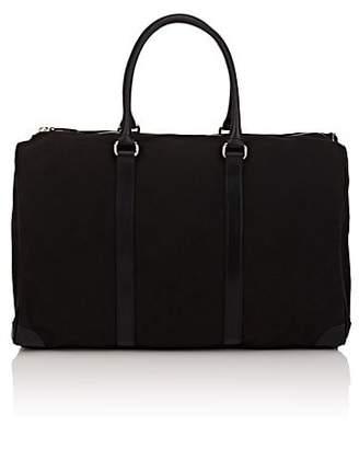 Barneys New York Women's Canvas & Leather Duffel Bag - Black