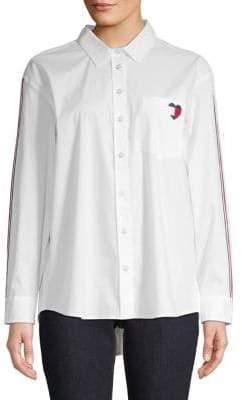 Tommy Hilfiger Heart Logo Button-Down Shirt