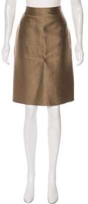 Oscar de la Renta Knee-Length Pencil Skirt