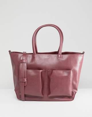 Matt & Nat Tote Bag With Front Pockets