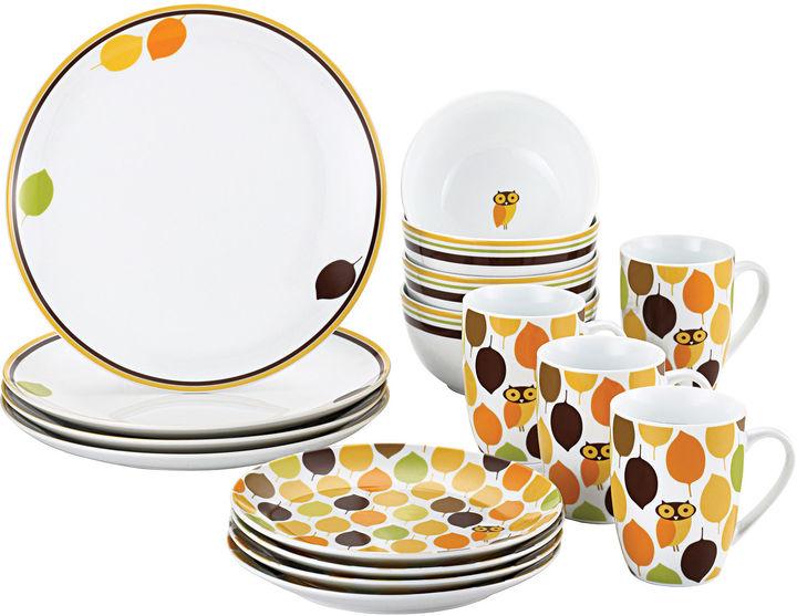 Rachael Ray Little Hoot16-pc. Dinnerware Set