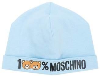 Moschino Kids 100% logo hat