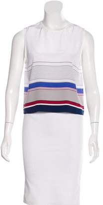 Jenni Kayne Striped Silk Top w/ Tags
