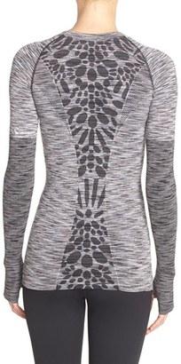 Women's Climawear 'Aligned' Space Dye Long Sleeve Tee $46 thestylecure.com