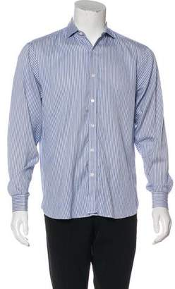 Michael Kors Woven Button-Up Shirt