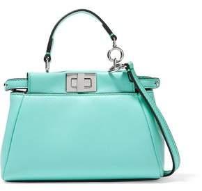 f2454f9c80 Fendi Peekaboo Micro Leather Shoulder Bag