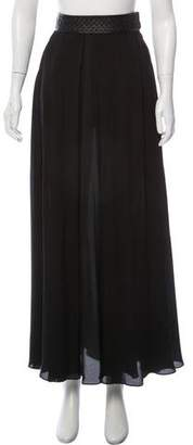 Elizabeth and James Silk Maxi Skirt