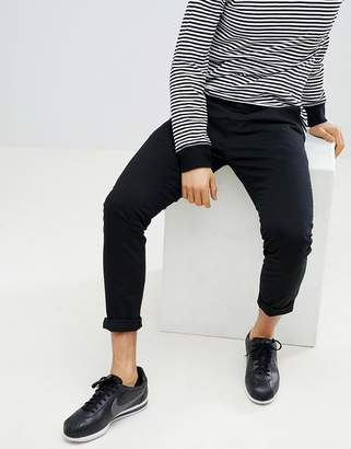 Next Skinny Fit Chinos In Black