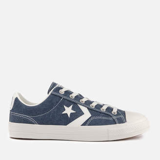 Men's Star Player Ox Trainers - Navy/Egret/Egret