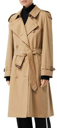 Burberry Westminster Heritage Long Belted Trench Coat