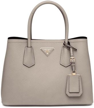 Prada Double small leather bag