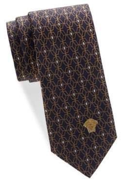 Versace Pattern Silk Tie