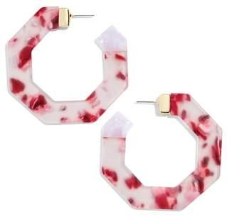 BaubleBar Diem Hoop Earrings