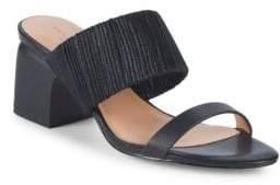Halston Kimberly Leather Sandals