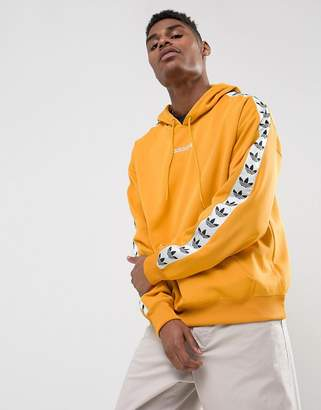 adidas Originals Adicolor TNT Tape Hoodie In Yellow BS4669 $82 thestylecure.com