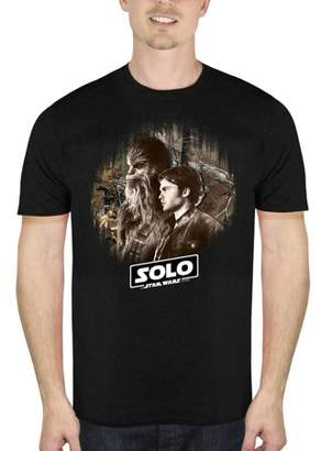 Star Wars Movies & TV Solo: A Story Han and Chewie Men's Short Sleeve Graphic Tee, Up to size 2XL