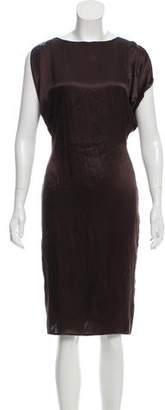 CNC Costume National Silk Knee-Length Dress