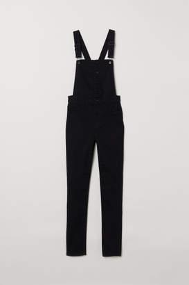 H&M Bib Overalls - Black