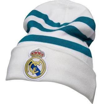 adidas RMCF Real Madrid 3 Stripes Beanie White/Vivid Teal