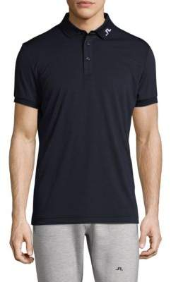 J. Lindeberg Golf Short-Sleeve Logo Polo