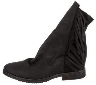 Cinzia Araia Fringe Ankle Boots w/ Tags