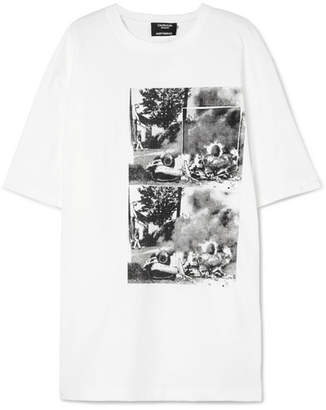 Calvin Klein Andy Warhol Foundation Oversized Printed Cotton T-shirt - White