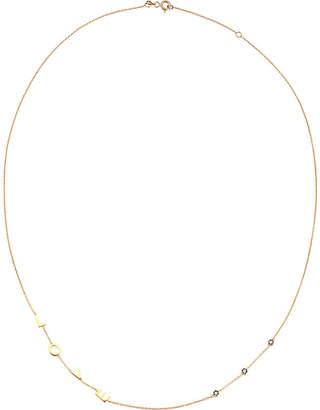 The Alkemistry Kismet by Milka 14ct rose gold LOVE necklace