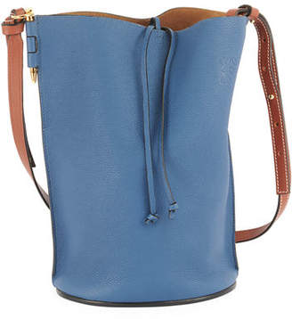 Loewe Gate Calfskin Leather Bucket Bag