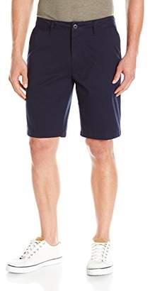 Caribbean Joe Men's Super Soft Weekend Boardwalk Cotton Twill 10 Inch Club Short