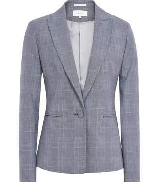 Reiss Chelton Jacket - Single Breasted Blazer in Blue