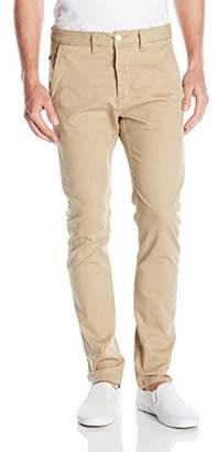 Rusty Men's Original Slim-Tapered Stretch Chino Flipside Casual Pant
