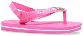 Havaianas Baby Brazil Logo II Flip Flops