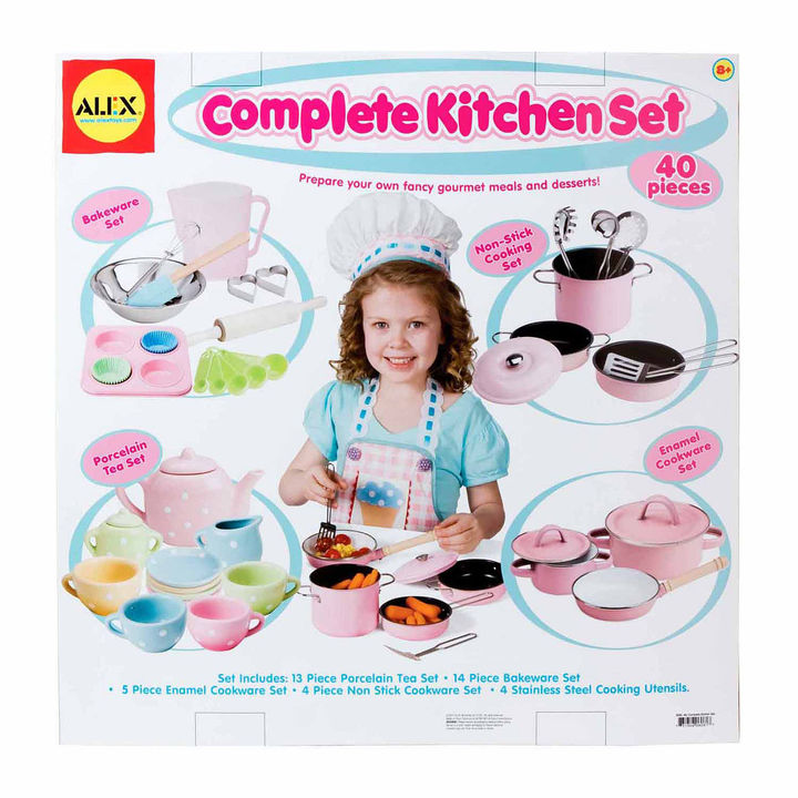 Alex ALEX TOYS Alex Toys Complete Kitchen Set Play Kitchen