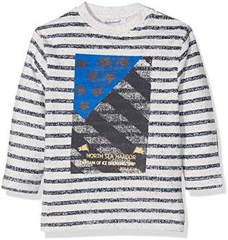 3 Pommes Baby Boys Blue Iceberg T-Shirt