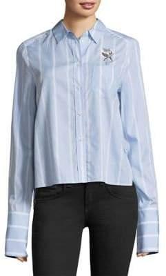 Equipment Huntley Striped Shirt